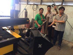 Thailand cnc plasma cutting machine.
